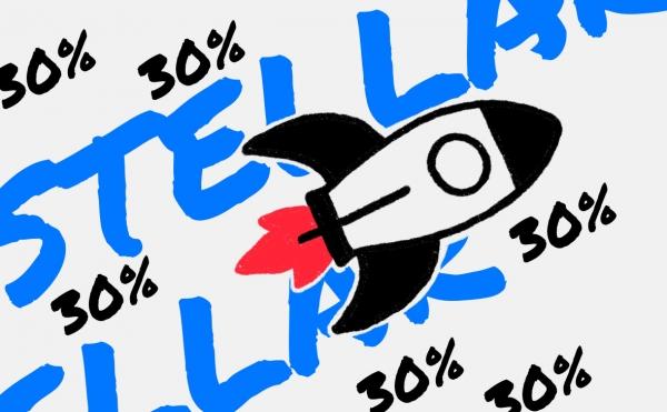 Stellar подорожал на 30% на фоне сотрудничества с Минцифры Украины