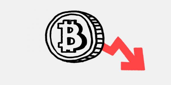 Курс биткоина впервые за неделю опустился ниже $33 тыс.