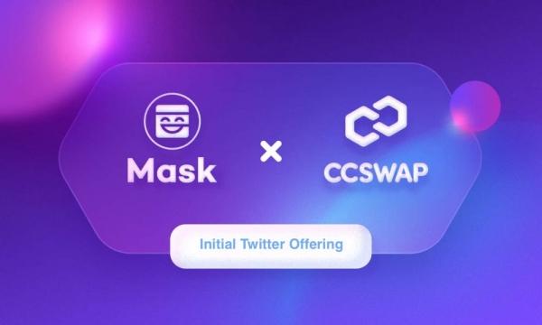 CCSwap запустил ITO на Mask Network и Ethereum